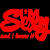 "Наклейка на автомобиль ""I m Sexy"""