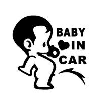 "Наклейка на автомобиль ""Вaby in car"""
