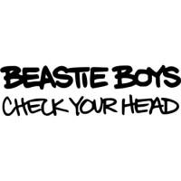 """Наклейка на автомобиль """"Вeastie Boys"""""""