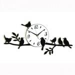"""Декоративные часы  """"Птицы на ветвях"""""""