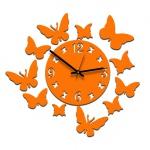 """Декоративные часы """"Эффект бабочки"""""""