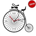 """Декоративные часы """"Старый велосипед"""""""