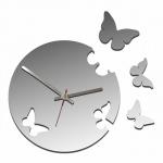 """Декоративные часы """"Живые бабочки"""""""