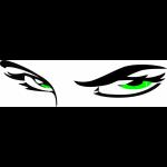 """Наклейка на автомобиль """"Глаза 2"""""""