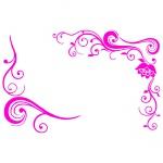 Виниловая наклейка «Обрамление»