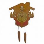 """Декоративные часы """"Лесной домик"""""""