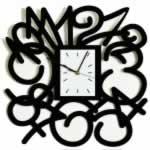 """Декоративные часы """"Времянной взрыв"""""""